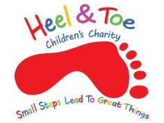 Heel & Toe Children's Charity Logo