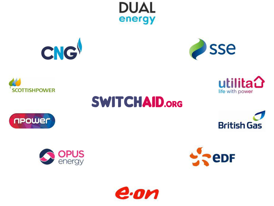 Energy Suppliers - SwitchAid