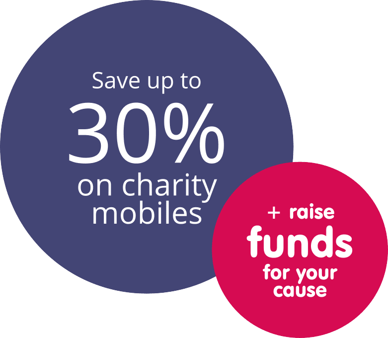 Charity Mobiles - Save Up To 30%